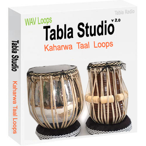 Tabla Loops for Kaharwa Taal