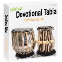 Tabla Apple Loops for Devotional, Spiritual and Bhajan Music - Tabla Loops Studio CD