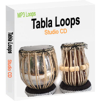 Tabla Loops Studio CD in MP3 format - Download Pack