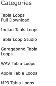 Categories for Tabla Loops