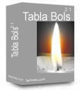 Tabla Bols 2.1, Tabla Loop Cd with Tabla Bols Notations