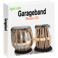 Tabla Loops for Garageband - Studio CD