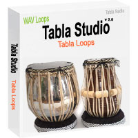 Tabla Studio v2.0 (Tabla Loops for Indian Taals) - Dadra, Kaharwa, Roopak, Deepchandi, Bhajani for Indian Folk Music Rhythm Loops and Teentaal, Jhaptaal and Ektaal